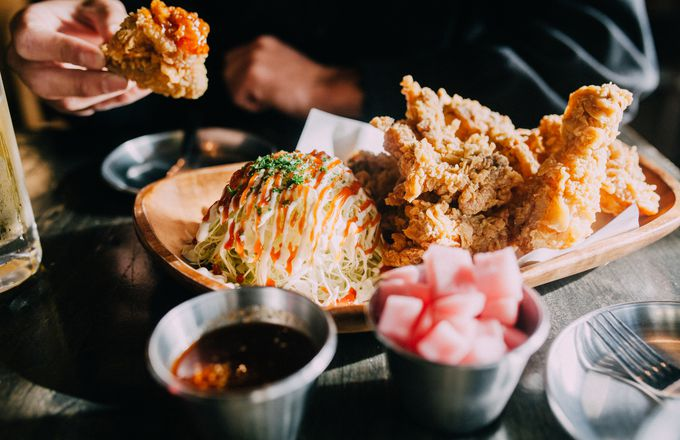 As the name might suggest, Monster Chicken is committed to fried chicken in a big grunty way.