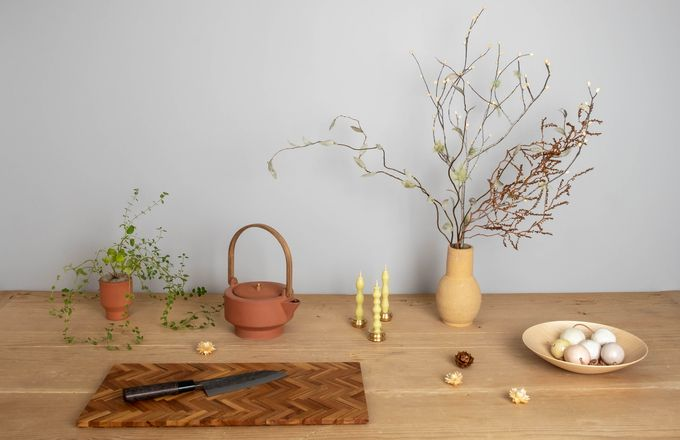 A display of homewares available at Made Good.