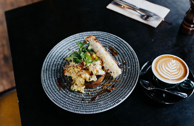 Brunch served in a Christchurch cafe offering the best brunch in the city.