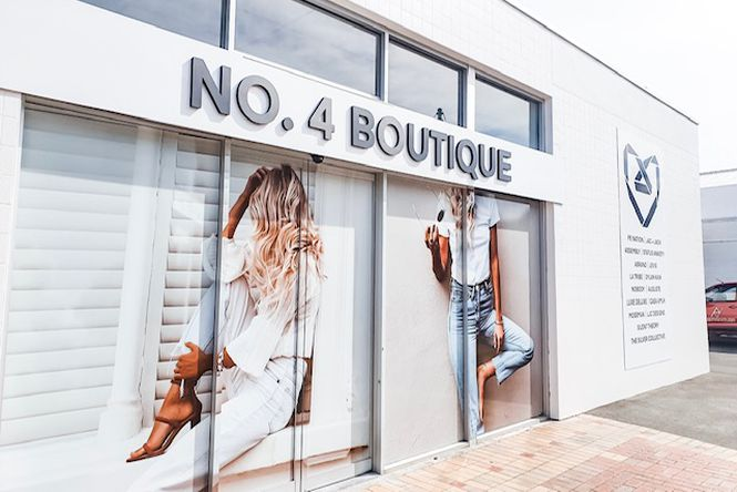 The exterior of No. 4 Boutique in Blenheim.