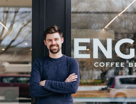 James Burt from Engine Coffee Brewers