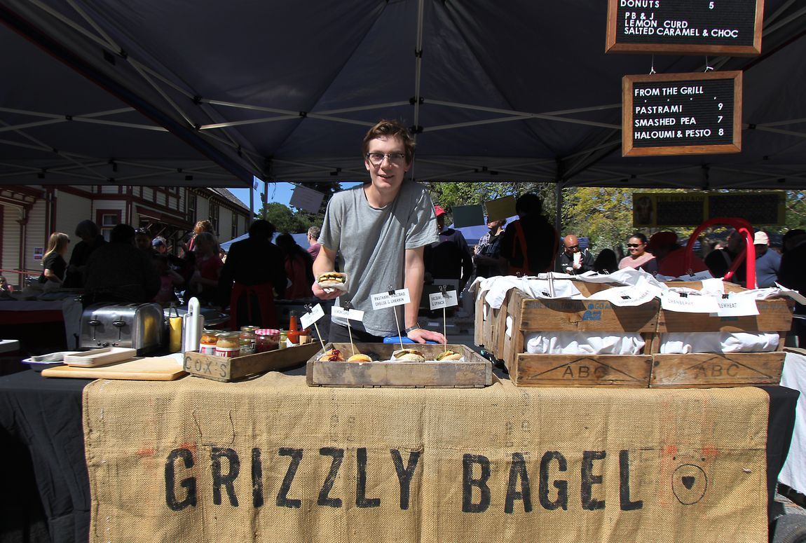 A photo of Sam Ellis from Grizzly Bagel.