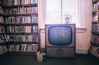 A television.