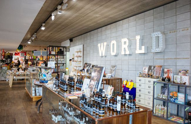 The World store.