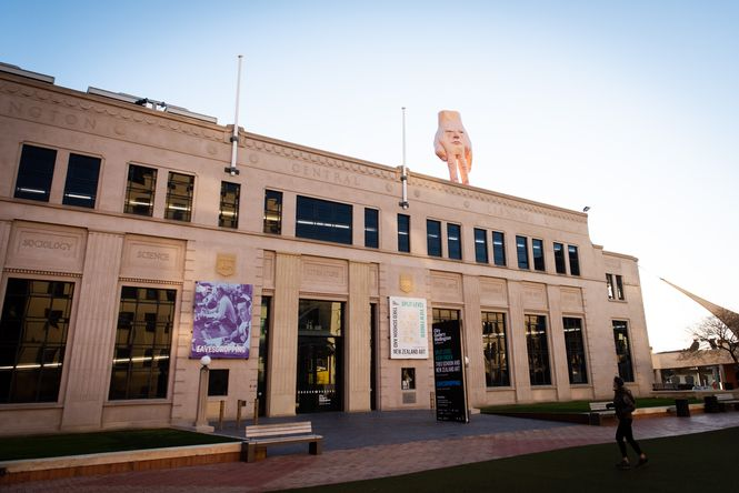 Exterior of Wellington City Gallery