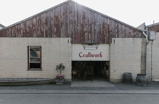 Exterior view of Craftwork Brewery.