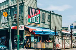 Exterior image of Fidel's Cafe in Wellington.