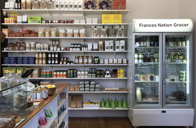 Frances Nation grocer store.