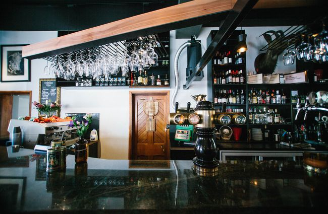 The Bar At Freemans Near Dining Room