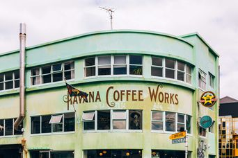 Havana Coffee Works sign.