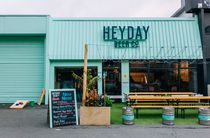 Outdoor courtyard at Heyday, Wellington.