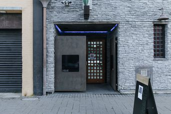 Entrance to Hide nightclub.