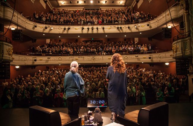 A sold out audience at Isaac Theatre Royal Christchurch.