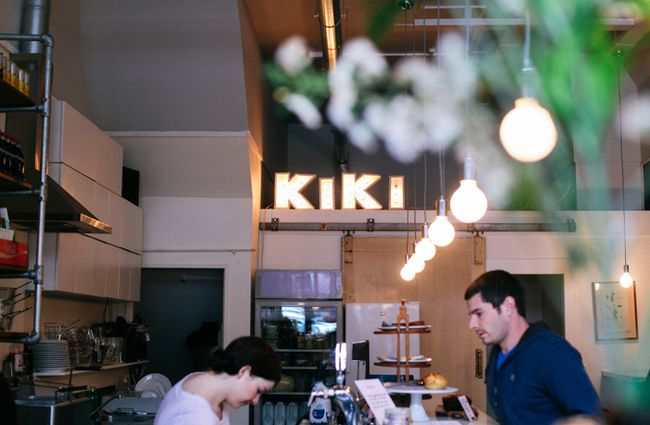 Kiki light sign.