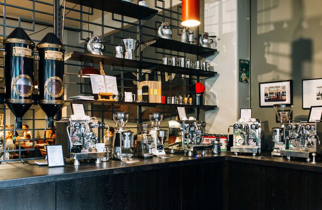 Coffee machines for sale at L'affare cafe Wellington.