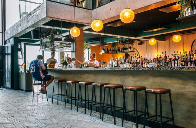 A Fancy Yet Cheeky Bar And Restaurant All In One