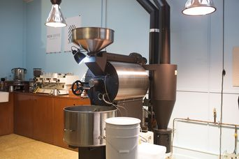 The coffee roaster.