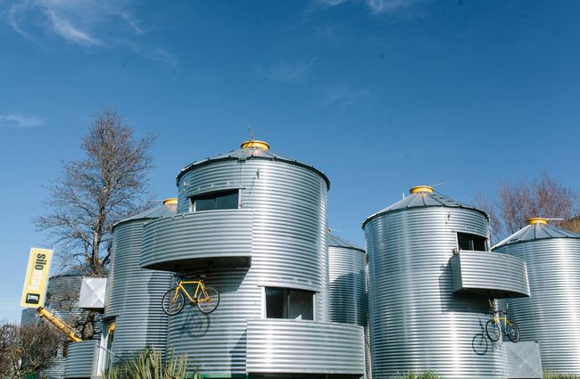 The silos in Little River.