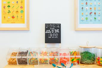 A pick and mix display.